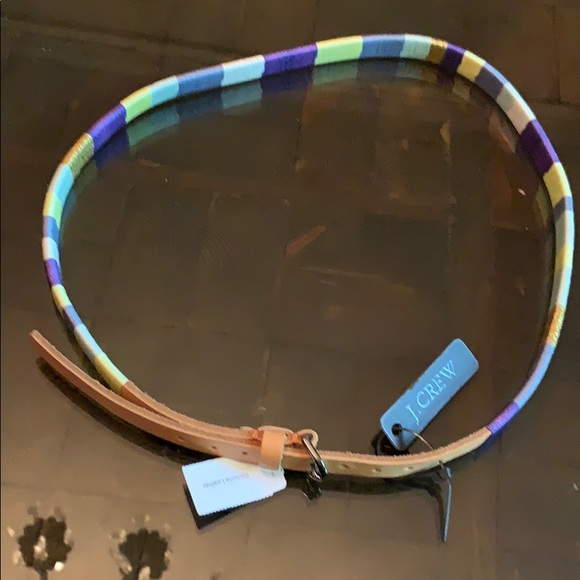 NWT J Crew small leather belt
